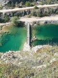 Чехословакские гранд-каньон & x22; Большое Amerika& x22; стоковые фото