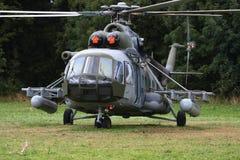Чехословакский вертолет перехода Mil Mi-17 военновоздушной силы Стоковая Фотография RF