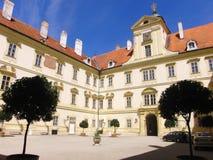 Чехословакский замок Valtice Стоковое Фото
