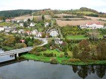 чехословакский ландшафт Стоковые Изображения RF