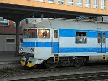 чехословакский поезд Стоковые Фотографии RF