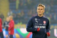 Чехословакский футболист Borek Dockal стоковая фотография rf