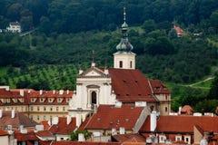 чехословакский шпиль республики prague Стоковое Фото