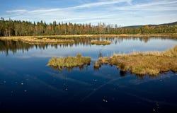 чехословакское sumava республики гор Стоковая Фотография