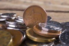 Чехословакская валюта кроны стоковые фото