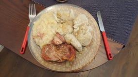 Чехословакская еда стоковые фотографии rf
