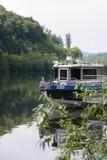 Чехословакская полиция реки Стоковое Изображение