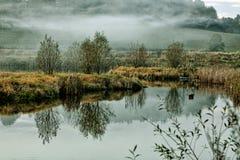 Чехословакская природа осени Стоковые Изображения RF