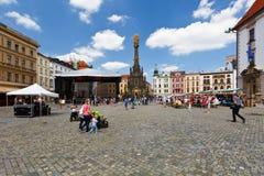 чехословакская республика olomouc стоковое изображение rf