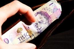 Чехословакские деньги Стоковые Изображения RF