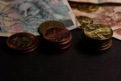 чехословакские деньги стоковые фотографии rf