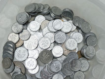 Чехословакские korunas монеток Стоковые Фотографии RF