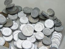 Чехословакские korunas монеток Стоковая Фотография RF