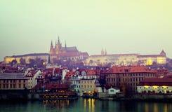 чехословакский выравниваясь взгляд республики prague Стоковое Изображение
