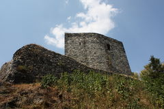 Чехословакский замок: Ternberk ½ ÅÄŒeskà Стоковые Изображения