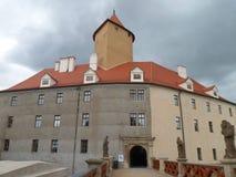 Чехословакский замок Veveri стоковое изображение rf