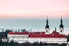 чехословакский панорамный взгляд республики prague стоковые фото