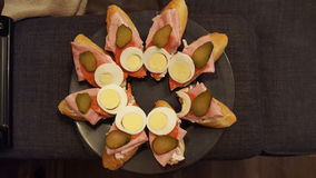 Чехословакский сандвич стоковое фото