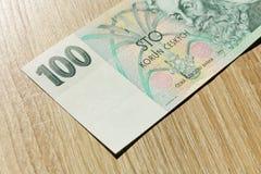 100 чехословакских крон Стоковое фото RF