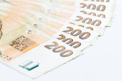 200 чехословакских крон Стоковое Изображение