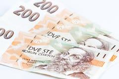 200 чехословакских крон Стоковое фото RF