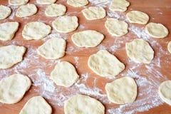 Чех испек плюшки с вареньем и сахаром Стоковое фото RF