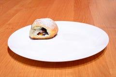 Чех испек плюшки с вареньем и сахаром Стоковое Изображение RF
