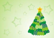 чешет вал звезд рождества Стоковая Фотография