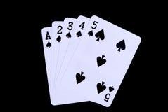 чешет покер Стоковые Фотографии RF