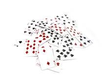 чешет покер Стоковая Фотография