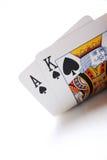 чешет покер Стоковые Фото