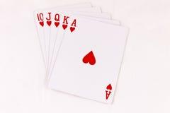 чешет покер Стоковое фото RF