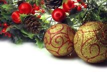чешет приветствие рождества Стоковые Фотографии RF