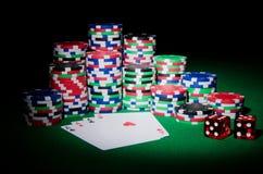 чешет принципиальная схема обломоков казино Стоковая Фотография