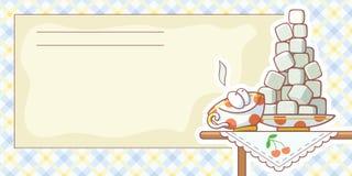 чешет рецепты еды Стоковое Изображение RF