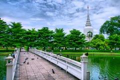 Челка Khen Wat Phra Si Mahathat Стоковые Фотографии RF