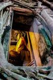 Челка Kung Будды Wat стоковое изображение