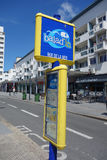 Челнок города Baladin свободный в Кале Стоковое Изображение