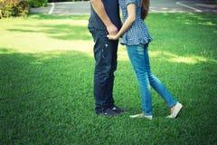 Человек Азии и женщины, концепция влюбленности Стоковые Фотографии RF
