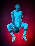 Человек баскетболиста стоковая фотография rf