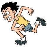 Человек бегуна бесплатная иллюстрация