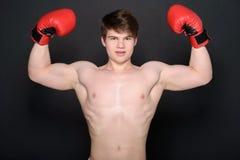 Человек боксера Стоковые Изображения