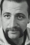 Человек бороды и усика Стоковые Изображения