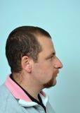 Человек бороды и усика Стоковое Изображение RF