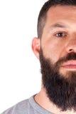 человек бороды Стоковое Фото