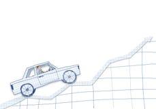 Человек в автомобиле бесплатная иллюстрация
