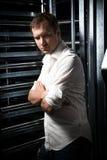 Человек в белой рубашке Стоковая Фотография RF
