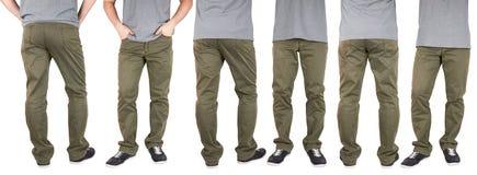 Человек в брюках стоковые изображения