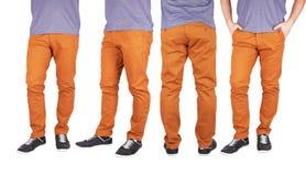 Человек в брюках стоковое фото