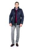 Человек в взгляде моды Стоковое Изображение RF